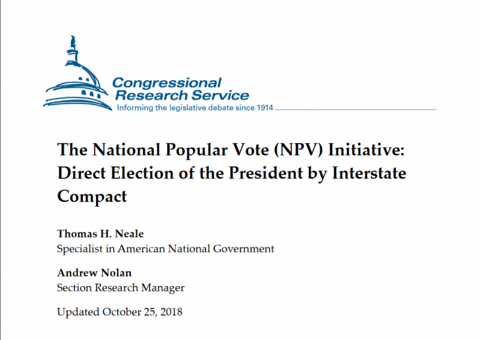The Electoral College, the NPV and Trojan Horses