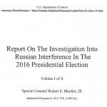 Is the Mueller Report a Smokescreen?
