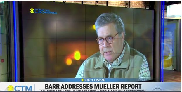 "Barr Clarifies Roles of U.S. Attorneys in ""Russia"" Investigations"