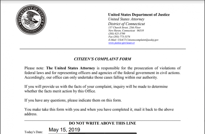 Reader Contacts US Attorney John Durham about Obama's Eligibility