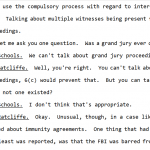 "During McCabe Interview, DOJ Attorney Disallows Responses to ""Grand Jury"" Questions in Clinton Probe"