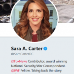 Sara Carter:  Various Sources Providing Information to DOJ for IG Investigation