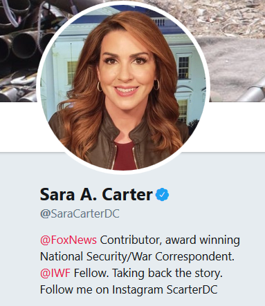"Sara Carter:  ""The Heat is On"" Clapper, Brennan"
