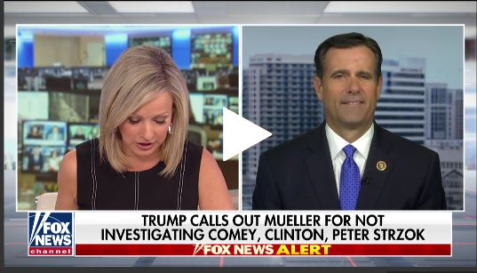 "House Judiciary Committee Member:  Mueller ""Warned"" not to Include Strzok on ""Russia"" Team"