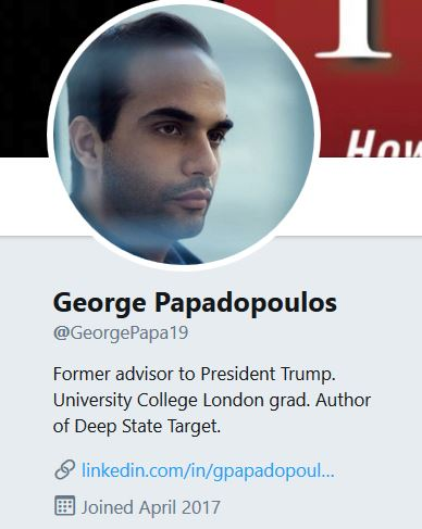 "Papadopoulos:  ""All Roads Lead to Brennan and McCabe"""
