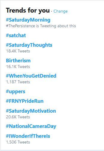 """Birtherism"" Trending on Twitter Saturday Morning"