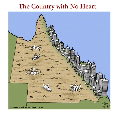How to Create a Country with no Heart?