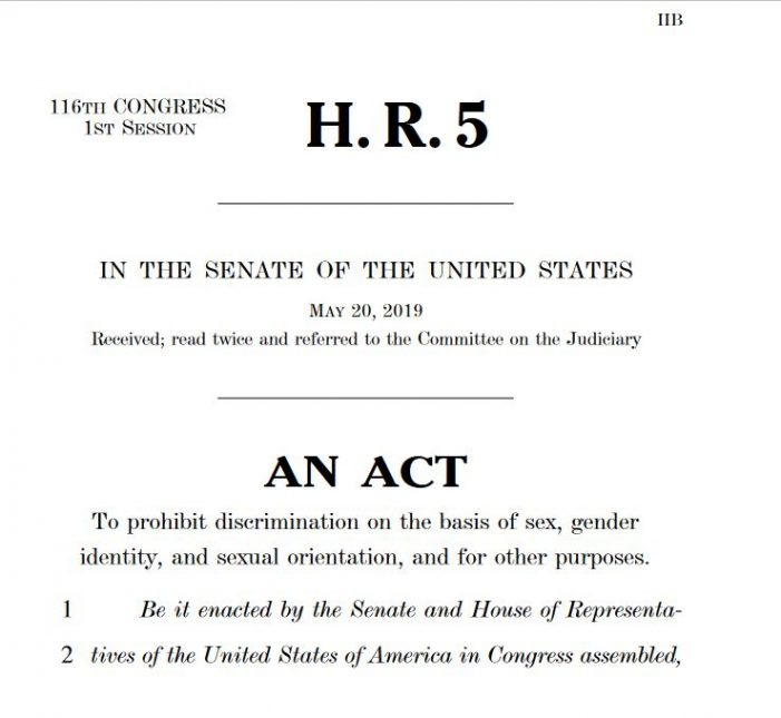 The Humanitarian Hoax of the 2019-2020 Equality Act: Killing America With Kindness – Hoax 41