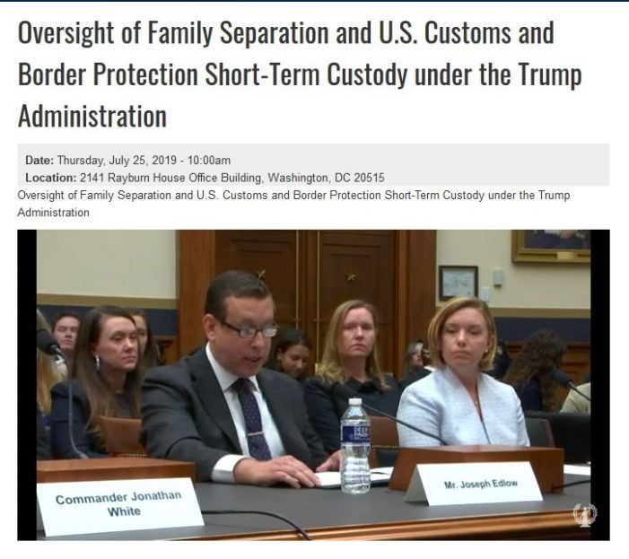 "House Judiciary Committee Holds Hearing on Border-Crossers, ""Family Separation"""