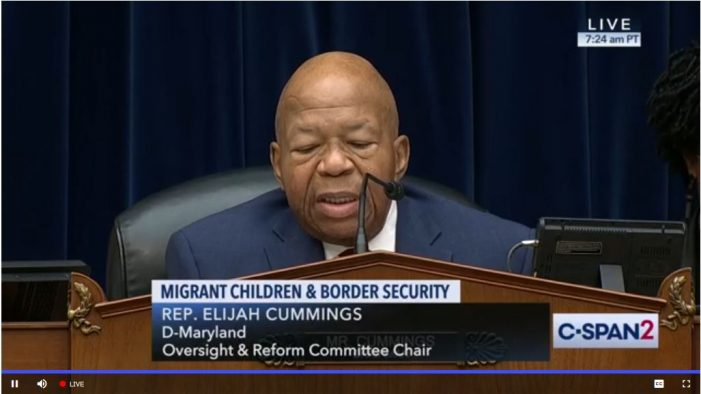 "House Oversight Committee Holds Hearing on Border ""Crisis"""