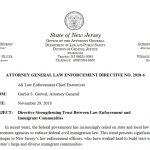 The New Jersey Directive to Promote Lawlessness