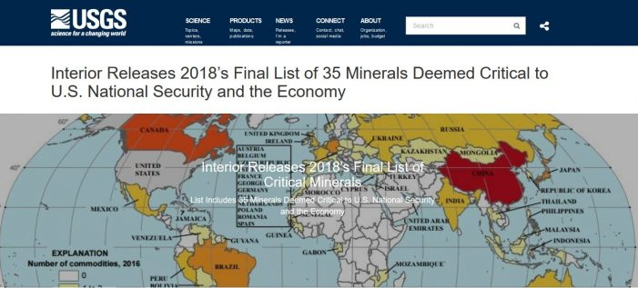 Modern Societies Require Minerals, and Mining