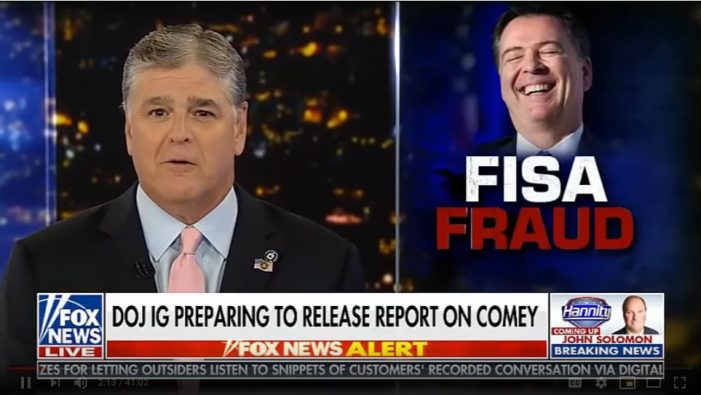 """Hannity"" Opening Segment Replete with New Information"