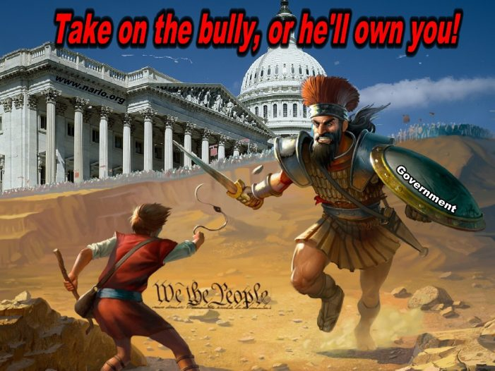 Confront The Bully Or Be His Slave!