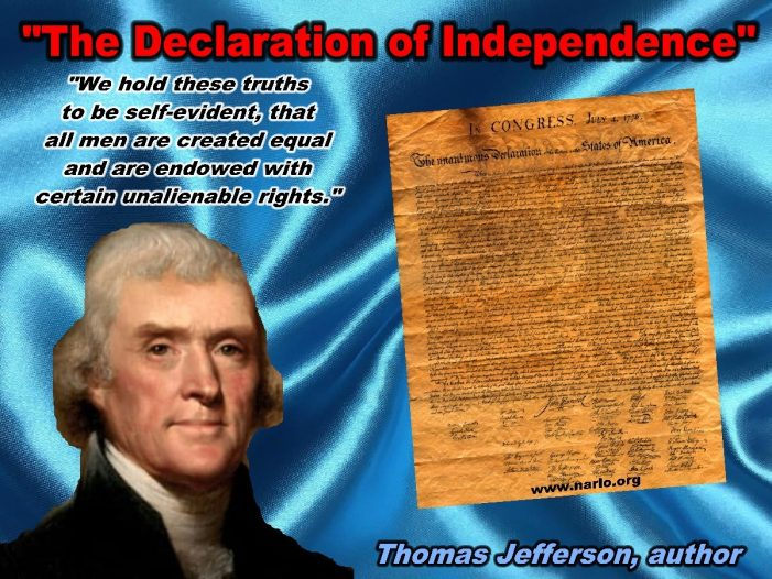 There Is Only One Inviolate Truth in the Declaration