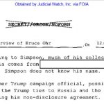 "Bruce Ohr ""302"" Reflects Erroneous Information"