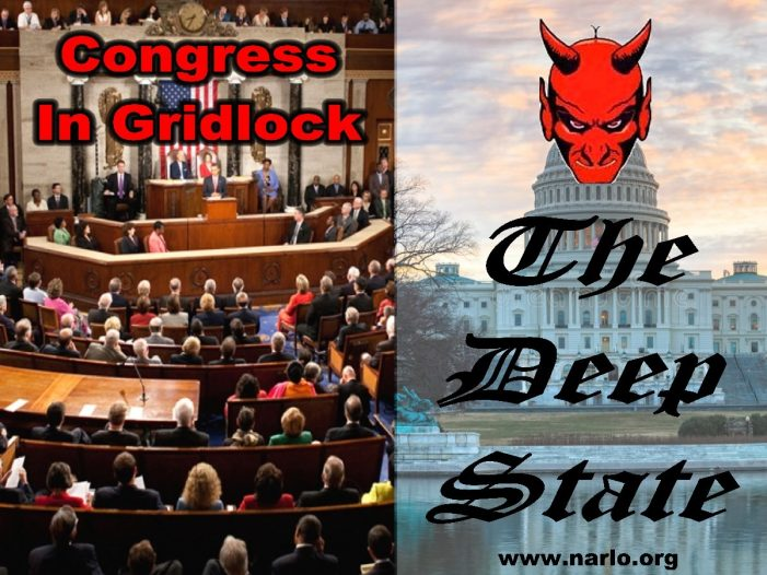 Small Efforts Can't Stop Congressional Gridlock Or The Deep State