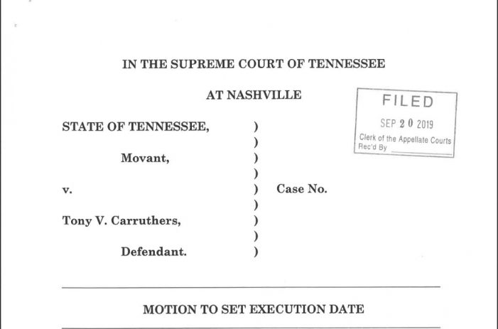 Is the Tennessee Attorney General Recommending the Execution of an Innocent Man?