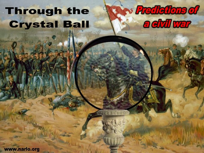 Stare Deep Into The Crystal Ball And You'll See Civil War