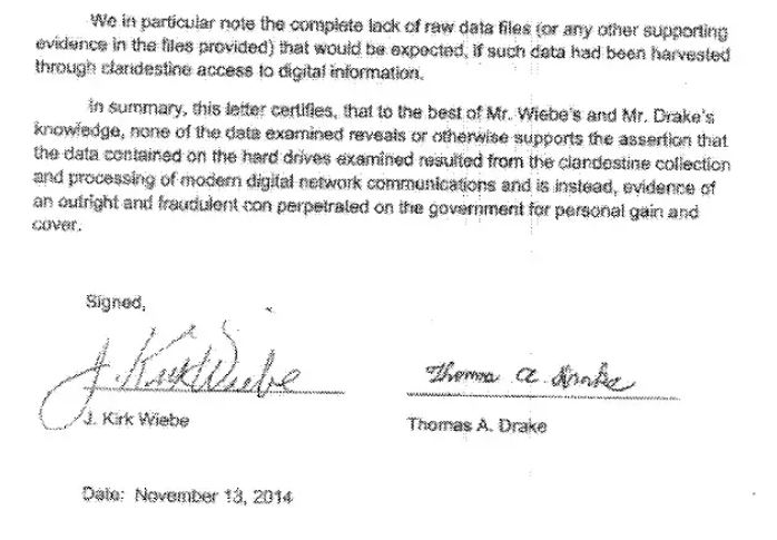 Drake Wiebe report conclusion