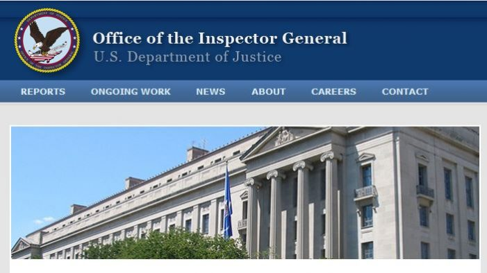 DOJ Inspector General to Testify to Senate Judiciary Committee December 11