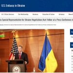 BOMBSHELL IMPEACHMENT FAIL: Kurt Volker's Previously Invisible July 27th Kyiv Press Conference Is Revealed
