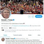 Trump Tweets about Homelessness as Bongino Provides Commentary