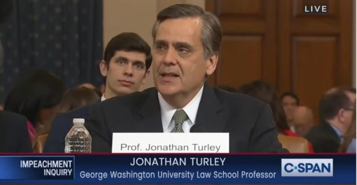 Jonathan Turley Tells It Like It Is