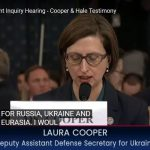 Impeachment Witness Laura Cooper Made Felony False Statements to Congress