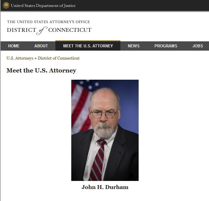 Citizen Submits Jander/OMB Article to U.S. Attorney John Durham