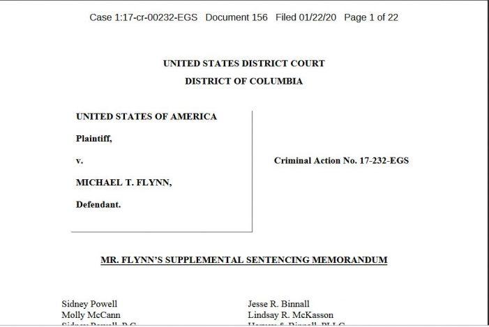 "Attorney Sidney Powell:  Prosecutors Pressured Flynn to ""Change his Testimony"""