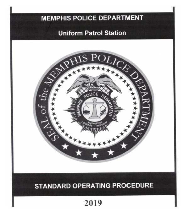 MPD's Uniform Patrol Station SOP