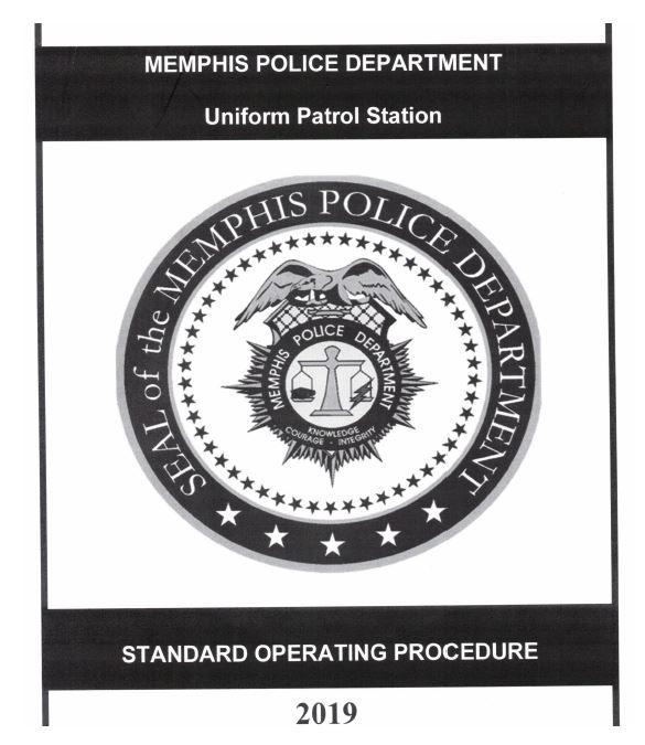 MPD's Uniform Patrol Station SOP