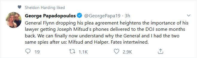 "Papadopoulos:  His and Flynn's ""Fates Intertwined"""
