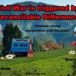 Where Else Can It Lead But Civil War?
