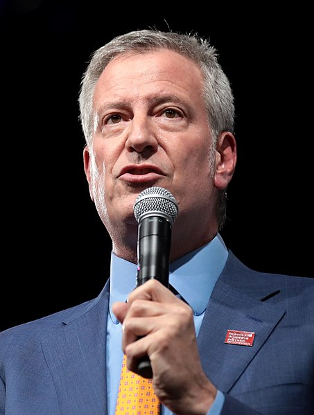 De Blasio Openly Violating the Constitution