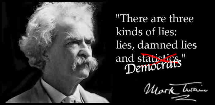 Lies, Damned Lies, & Democrats