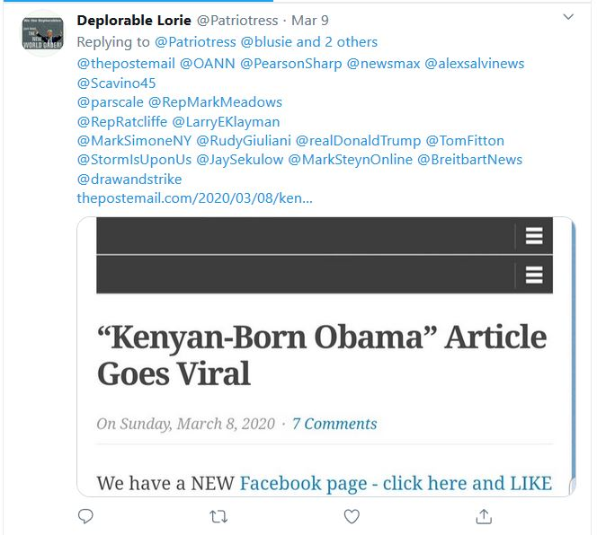 "Link to ""Kenyan-Born Obama"" Article Sent to Major Media Players, Trump Campaign Staff"