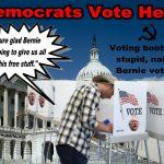 Don't Blame Bernie.  Blame The Stupid, Naïve Bernie Voters
