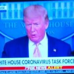 "Wednesday:  White House Says ""All-Out War"" Being Fought Against Coronavirus"