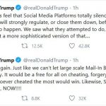 """Trump to Social-Media Outlets: """"Clean Up Your Act, NOW!"""""""