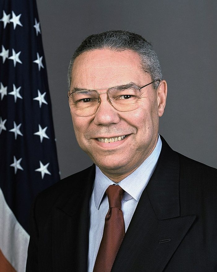 Colin Powell, Reporting for Duty