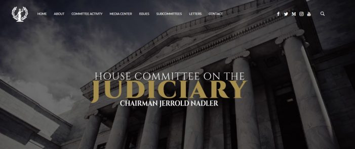 "House Judiciary Committee to Hear from Witnesses on Alleged Justice Department ""Political Interference"""