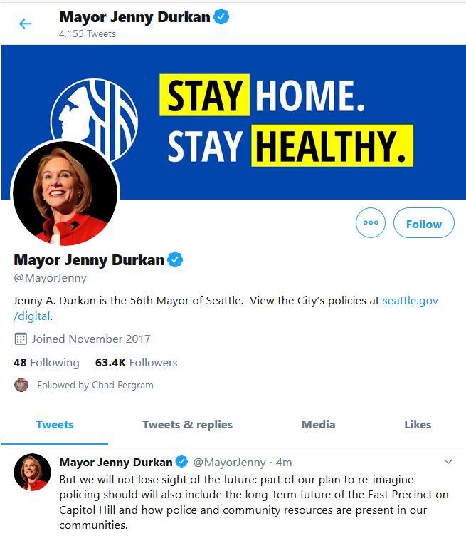 "Seattle Mayor Wants ""Summer of Love"" to ""Wind Down"""