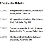 Presidential Debates?
