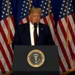 Trump Provides Monday COVID Briefing
