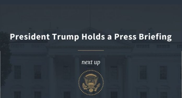 White House Press Conference 9:30 a.m. EDT Thursday