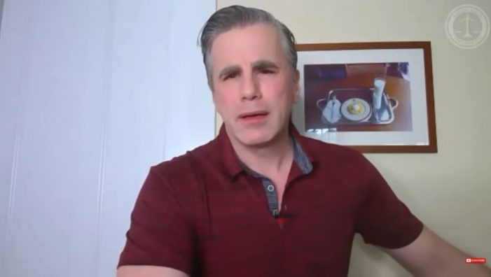 Tom Fitton Questions Harris's Eligibility