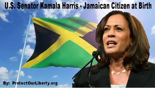 Kamala Harris Owes Homage and Allegiance to Queen of Jamaica