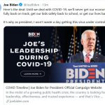 The Post & Email Contacts the Biden Campaign